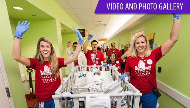 Texas Children's opens first phase of Legacy Tower with successful patient move
