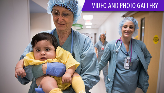 Texas Children's surgeons perform first surgery in new Legacy Tower