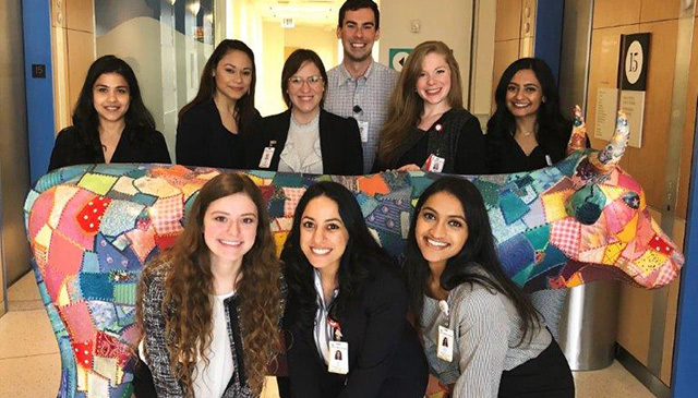 Ambulatory Services Spring internship program graduates nine