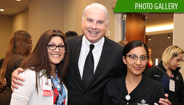 New Employee Pep Rally at Texas Children's Hospital Medical Center Campus