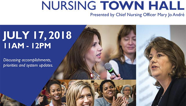 Nurses encouraged to pre-register for Virtual Town Hall set for July 17