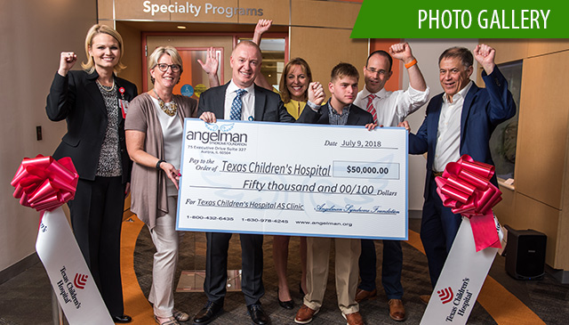 Texas Children's celebrates official opening of the Angelman Syndrome Clinic