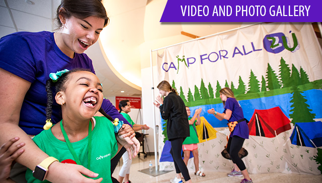 Camp For All 2U returns to Medical Center Campus and West Campus