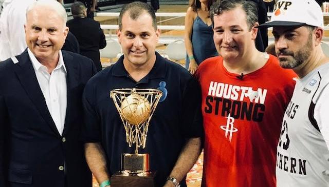 Kimmel vs. Cruz charity basketball game raises nearly $50K for Texas Children's