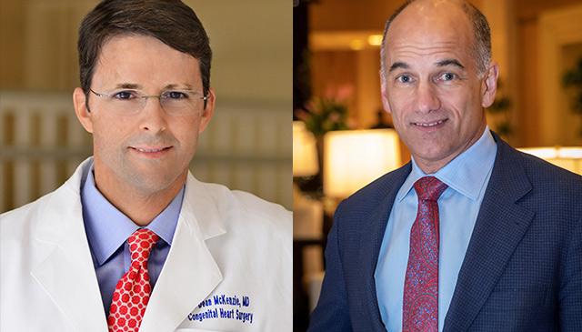 Texas Children's welcomes two esteemed congenital heart surgeons