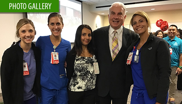 New Employee Pep Rally at Texas Children's Hospital West Campus