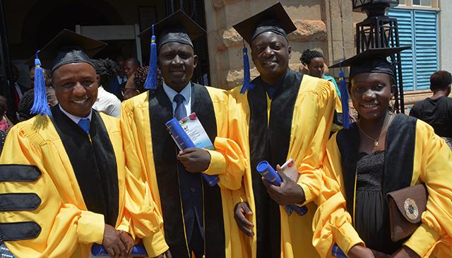East African Pediatric Hematology and Oncology Fellowship Program graduates first class