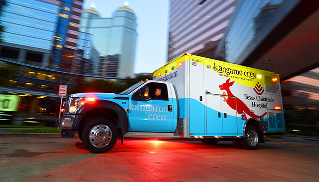 Miraculous month for Texas Children's Kangaroo Crew and Mission Control