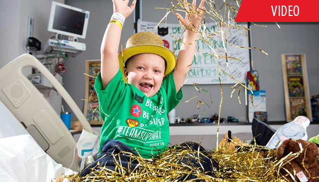 Cancer Center patients, families, employees Go Gold and invite you to do the same