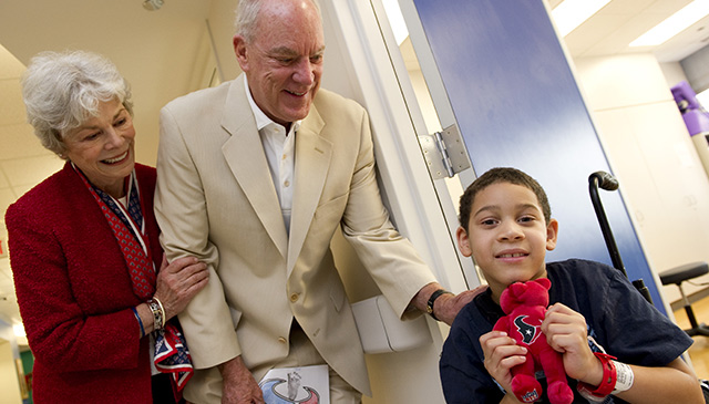Bob McNair, Houston Texans owner and Texas Children's supporter, passes