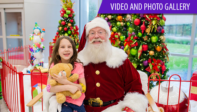 Annual tree lighting events spark Texas Children's holiday celebrations