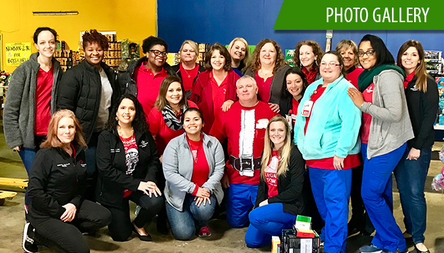 Texas Children's nurses bring joy, holiday cheer to foster kids in the community
