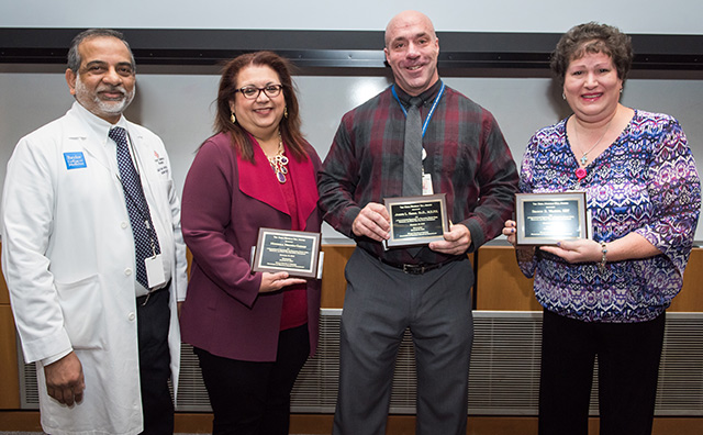 Reba Hill Awards presented to Neonatology staff