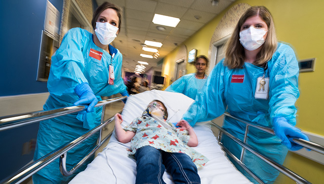 Children's named outstanding trauma center by Texas EMS