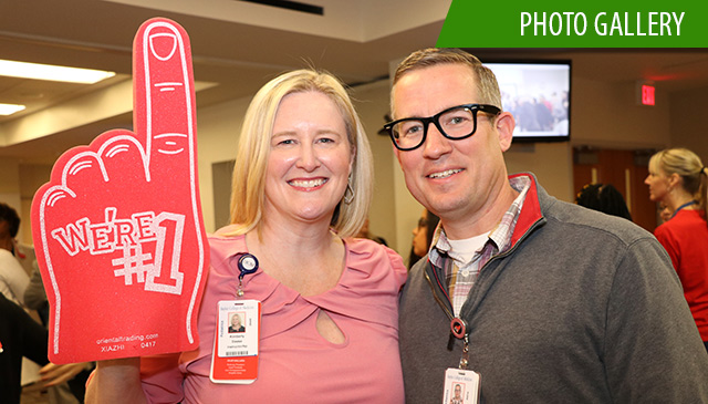 West Campus hosts Texas Children's first New Employee Pep Rally of 2019