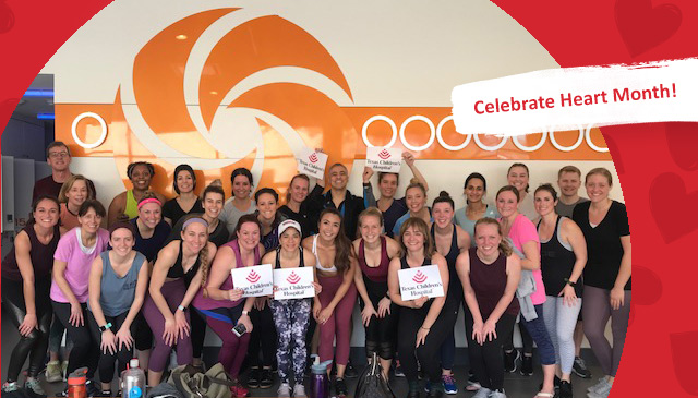 Charity spin class raises money for critical care medicine patients and families