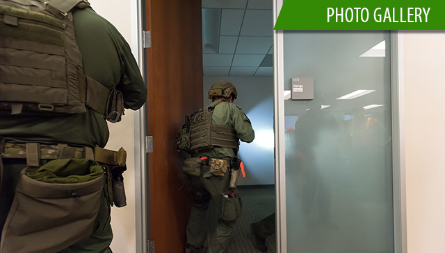 First active shooter exercise conducted in administration setting