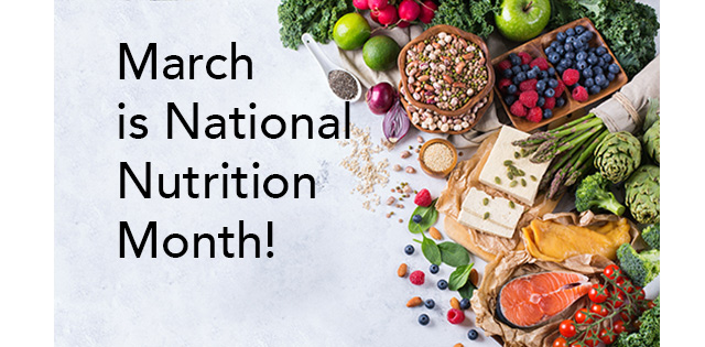 Texas Children's hosting several events for National Nutrition Month